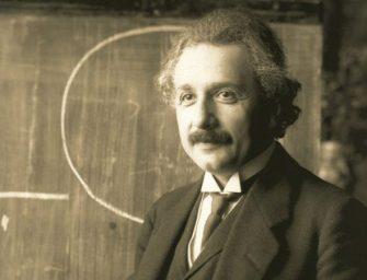Einstein relativitáselmélete segített eldönteni egy vitát