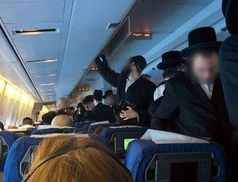 Mit tehetsz, ha vallásod tiltja, hogy nő mellé ülj a repülőgépen?