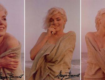 Marily Monroe eddig soha nem látott fotói kerülnek nyilvánosságra
