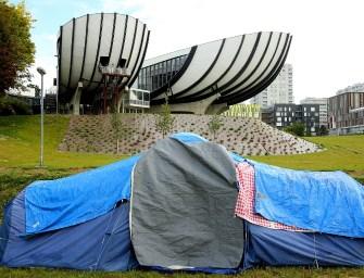 Elérték céljukat a migránsokat sátoroztató egyetemi hallgatók