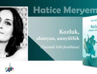 Találkozhatsz a török írónővel, aki megrajzolta Kozluk világát