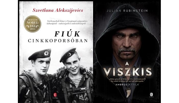 Szvetlana Alekszejevics: Fiúk cinkkoporsóban – Julian Rubinstein: A viszkis európa könyvkiadó
