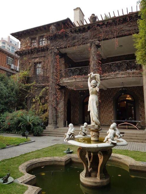 A Hugyecz-féle Csen-ház, a sanghaji írószövetség székháza
