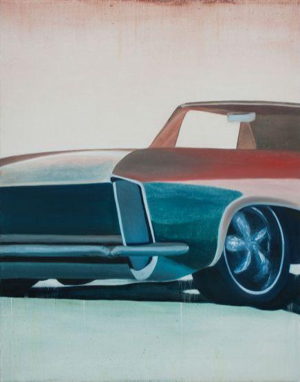 Vaughan's dusty Limousine