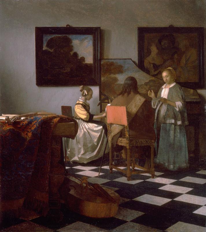 Vermeer: A koncert