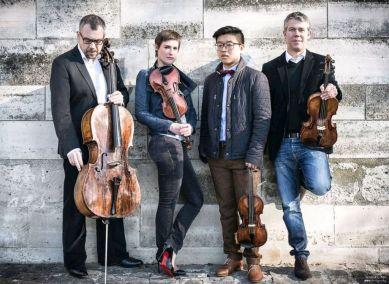 Quatuor Diotima. Fotó: Verena Chen