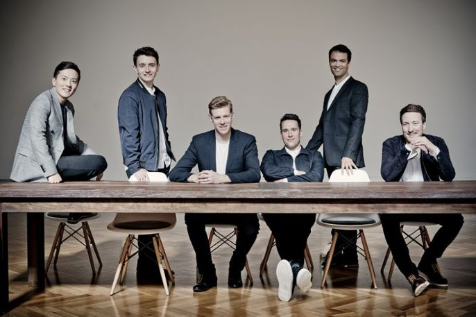 The King's Singers 2017 Photo: Marco Borggreve