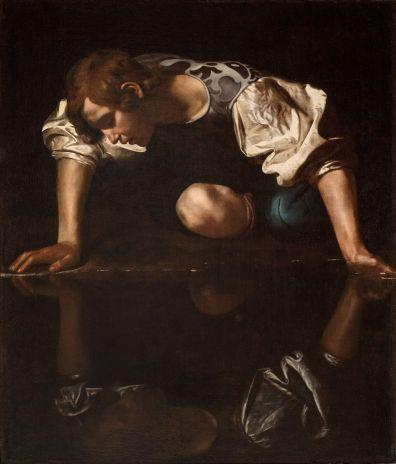 Caravaggio: Nárcisz
