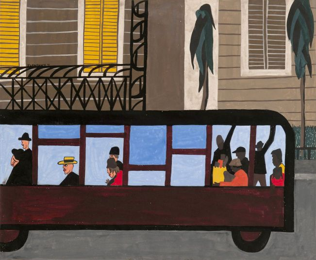 Jacob Lawrence One-Way Ticket