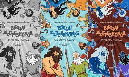 miklya luzsányi mónika bibliai szuperhősök