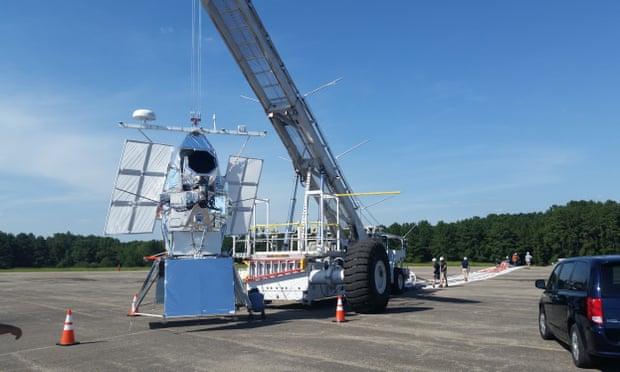 Stadion méretű ballonnal emelnek űrteleszkópot 40 km-re a Föld fölé