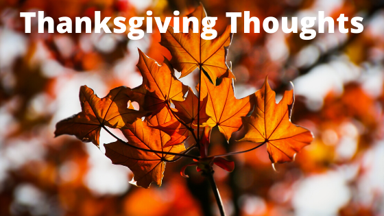 Thoughts Surrounding Thanksgiving and Native Americans