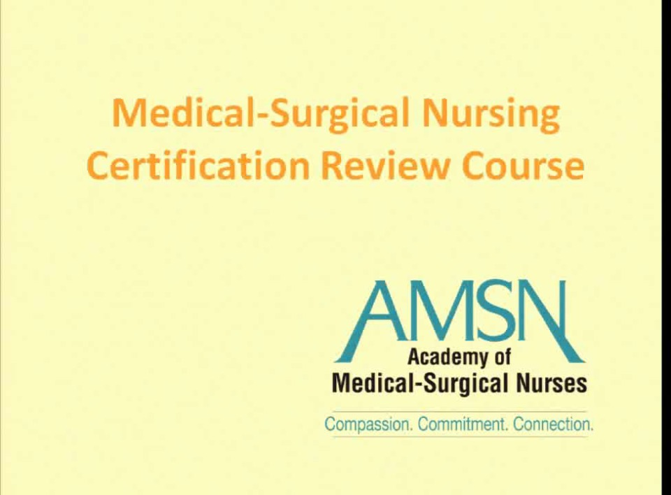 Ancc Medical Surgical Certification