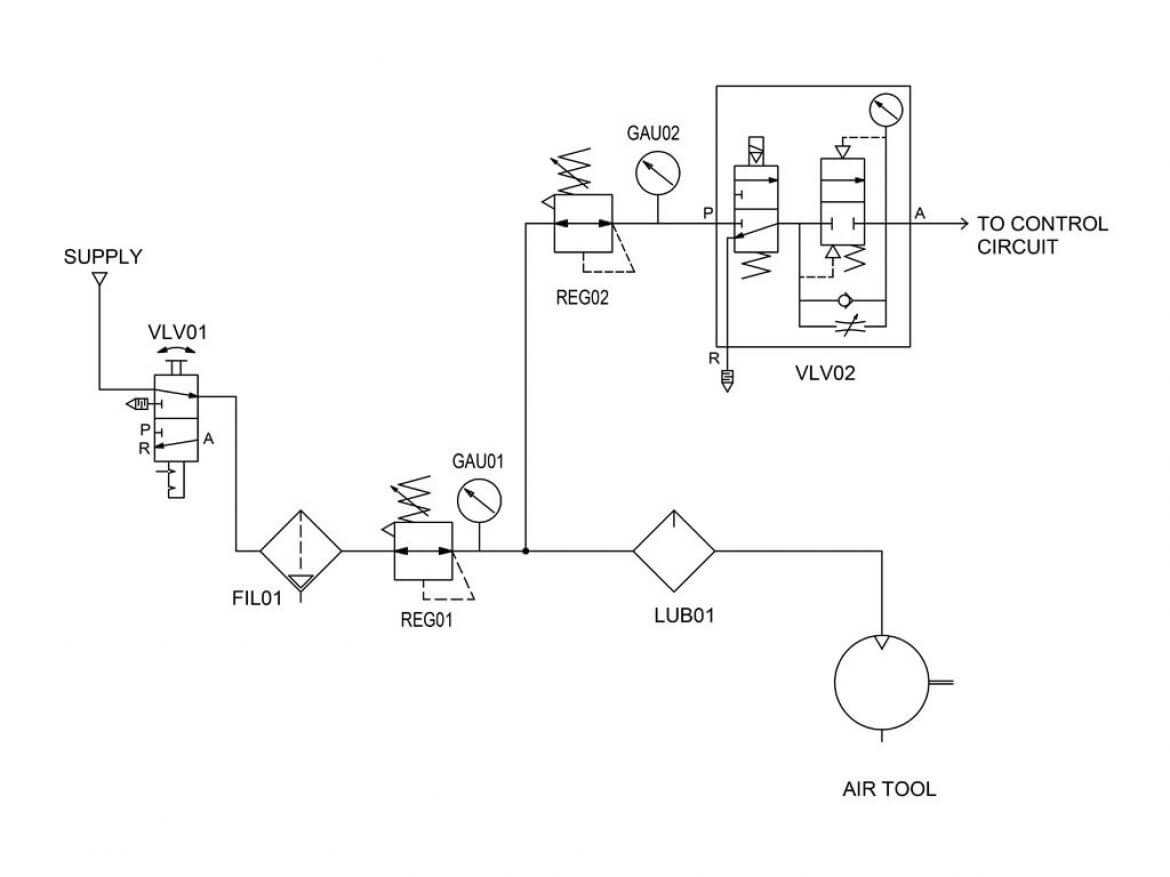 Pneumatic Circuit Diagram