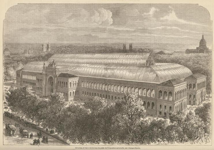 palais de l exposition universelle palais de l industrie aux champs