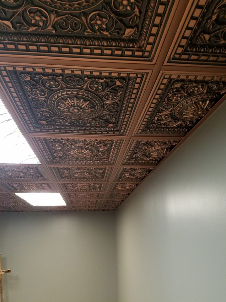 22 ceiling tiles canada hum home review da vinci faux tin ceiling tile drop in 24 x24 215 dct dailygadgetfo Image collections