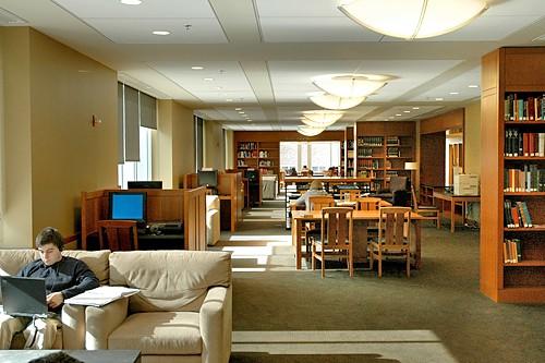 Nicholas Family Reading Room Duke University Libraries