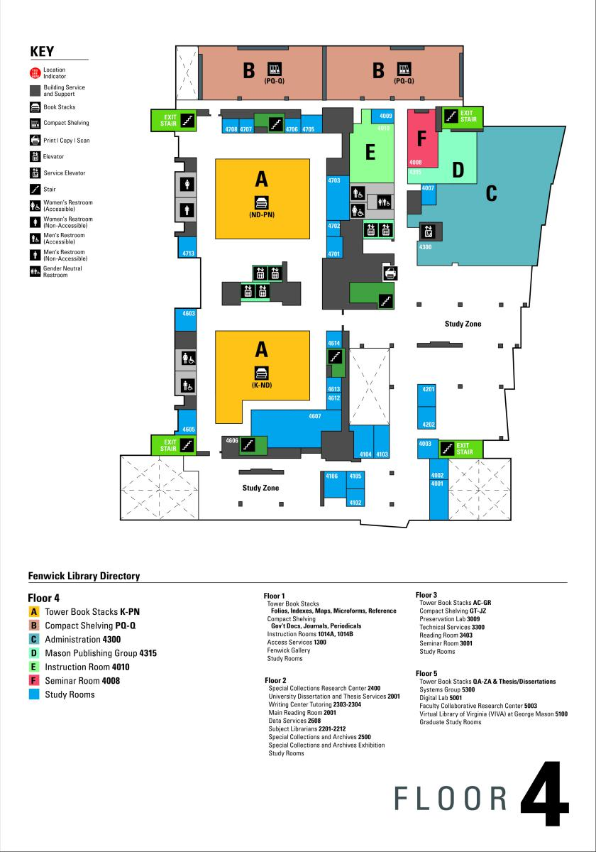 George Mason Campus Map