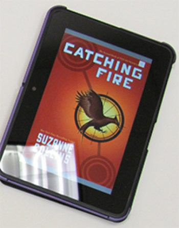 Catching Fire is one book that students can parse on eReaders