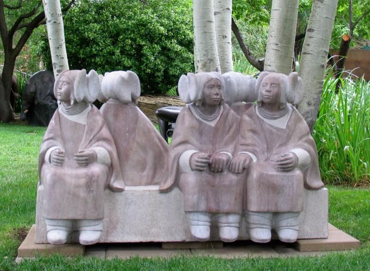 Hopi Girls by Doug Hyde