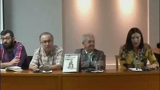 Από την παρουσίαση του βιβλίου του αγαπητού μας συμπολίτη κυρίου Παναγιώτη Αναστασιάδη με τίτλο: «Βιωματικό 1935-1985» που πραγματοποιήθηκε τη Δευτέρα 6 Νοεμβρίου στην αίθουσα εκδηλώσεων της Δημοτικής Βιβλιοθήκης.