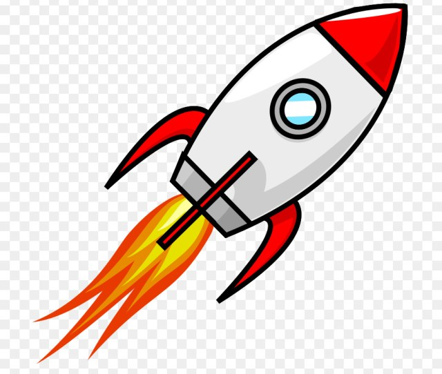 Cartoon Rocket Clipart Spacecraft Cartoon Rocket Transparent
