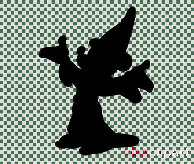 Disney Silhouette Clipart Walt Disney World Mickey Mouse Clip Art