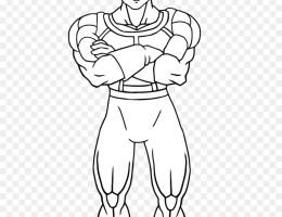 Goku Y Vegeta Para Dibujar On Log Wall
