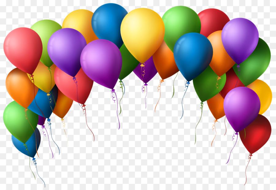 Happy Birthday Balloons Clipart Balloon Birthday Party Transparent Clip Art