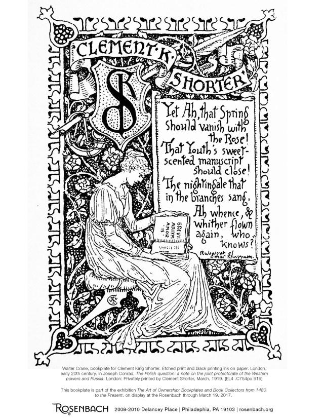 Rosenbach bookplate1