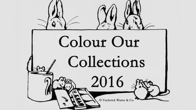 frederick warne co coloring book