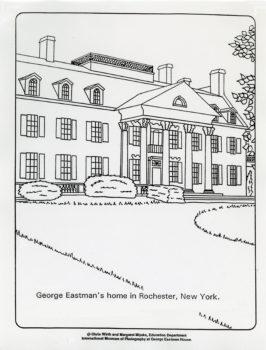 Eastman House Coloring Sheet