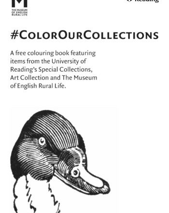 Colour Our Collections University of Reading cover