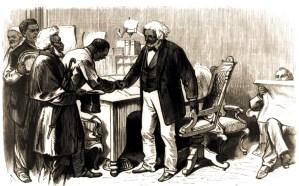 Frederick Douglass greeting