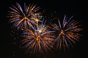 Fireworks By user:AngMoKio [CC BY-SA 2.5], via Wikimedia Commons