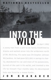 cover art for the book Into the Wild