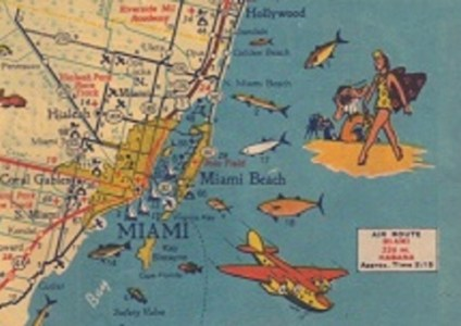 Exhibit of Pictorial Maps at Branner Library   Stanford Libraries This