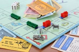 Monopoly Board Game Closeup