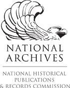Logo line drawing of eagle reads National Archives, National Historical Publications & Records Commission