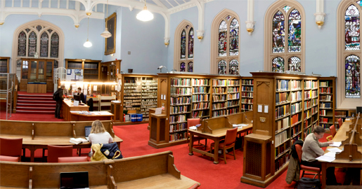 New College Library, University of Edinburgh