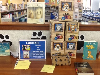 We may also put out various activities during the summer including puzzles, legos, activity sheets, and this contest.