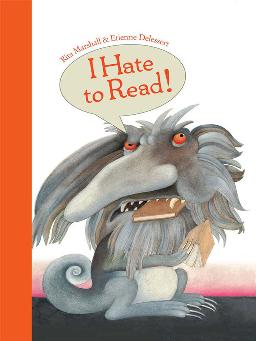 Cover of I hate to read
