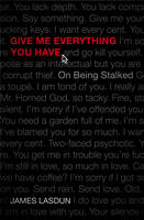 Cover: Give Me Everything You Have
