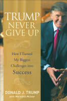Cover of Trump never give up