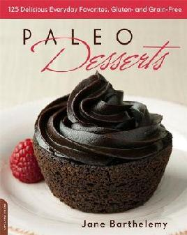 Cover of Paleo desserts