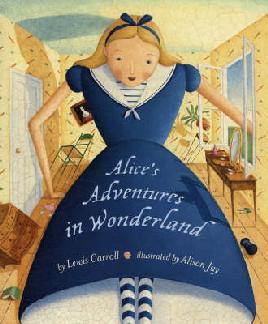 Covr of Alice's adventures in wonderland