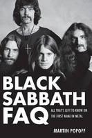 cover of Black Sabbath FAQ