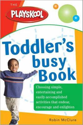 Cover of Toddler's busy play book