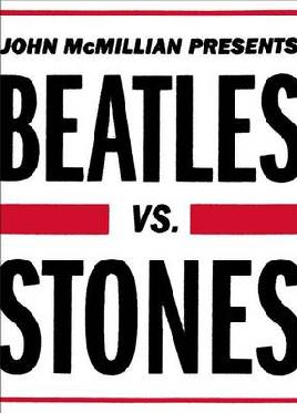 cover for Beatles vs Stones