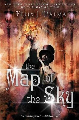 Book cover: The map of the sky